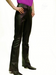 Higgs Leathers LAST FEW SAVE £50!  Bobette (ladies Bootleg style leather trousers)